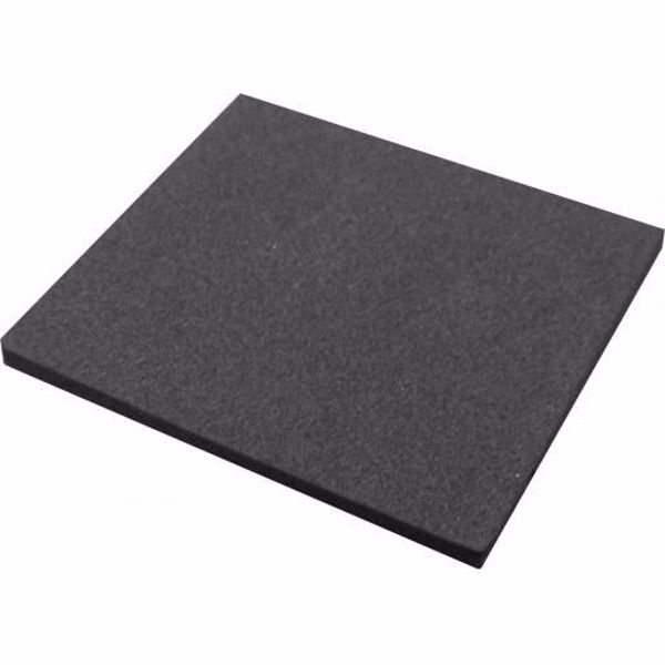 Picture of EPDM plaatje 2x2 cm